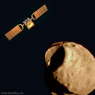Mars Express подходит к Фобосу
